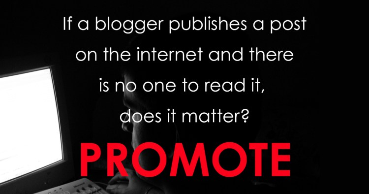 If a blogger publishes a post