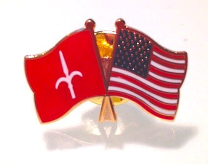 Spilla AMG FTT - USA & Free Territory of Trieste