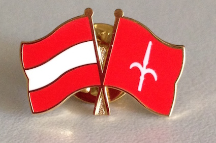 Spilla Austria & Free Territory of Trieste