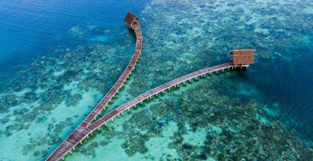 gambar pemandangan pulau anambas