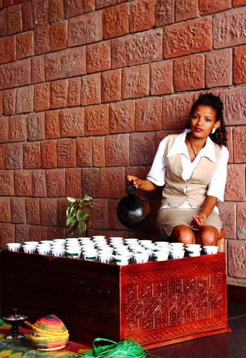 Panoramic View Hotel - Ethiopian Coffee Ceremony