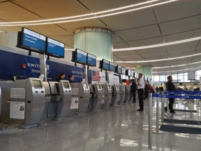 United Ticketing Counter