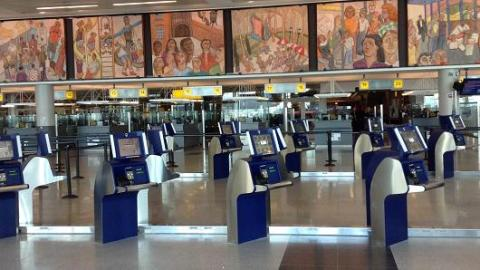 JFK Passport Kiosks