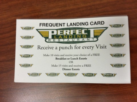 The Perfect Landing's Frequent Landing Car