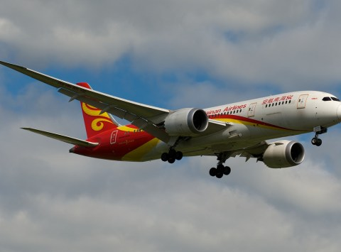 Hainan Airlines Boeing 787-8 B-2722