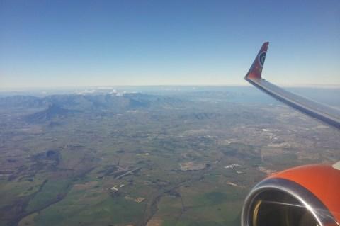 Over The SA Bush