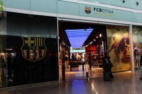 FC Botiga Barcelona Airport
