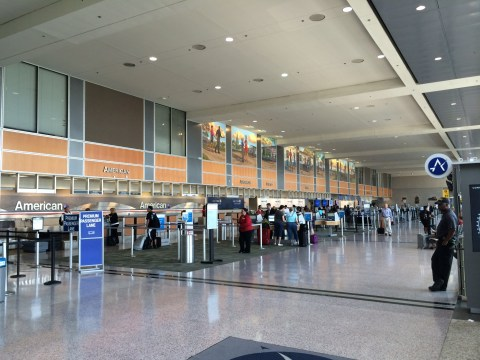 Austin Airport American Airlines Check-In