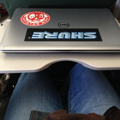 Frontier 405 Laptop Space