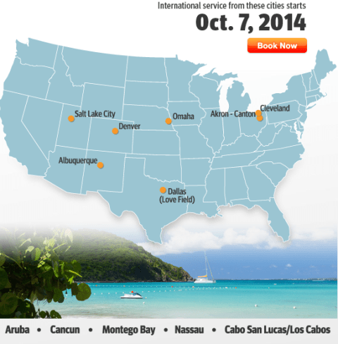 Southwest International Routes Oct7