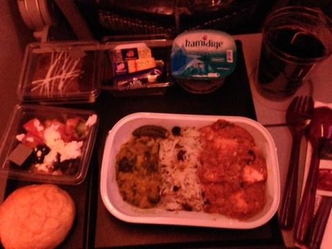 Late Night Dinner on Flight 1366