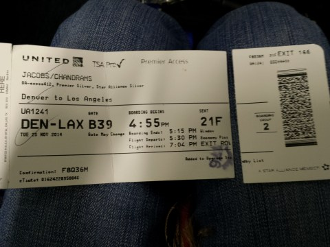 United 1241 - Boarding Pass