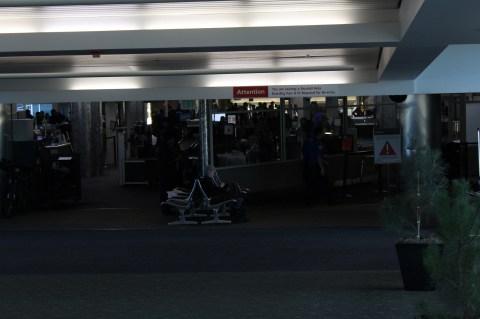 Concourse A Security at DEN