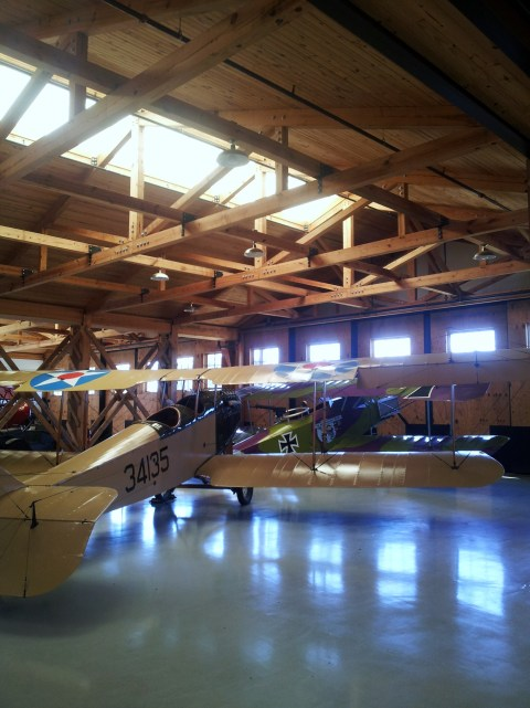 Wooden WWI Hangar
