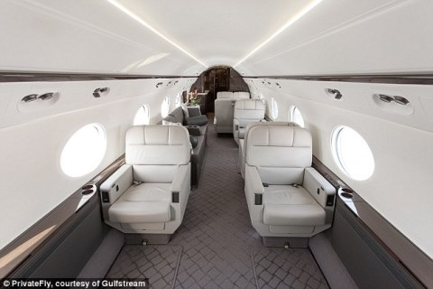 PrivateFly Gulfstream Jet for Airport Holiday New Year's Eve