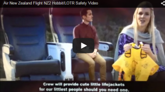 Air New Zealand and The Hobbit - NZ02