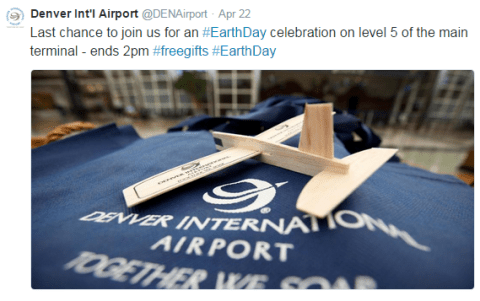DEN Earth Day - Airplane