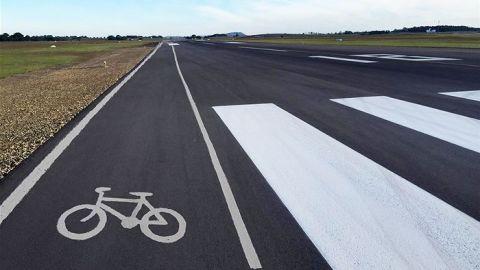 MGB Bike Lanes - Aviation April Fool's