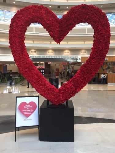 ATL in the aviation Valentine's spirit
