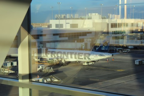 Flying with Frontier - a brave choice