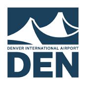 DEN Airport logo - DEN beer garden