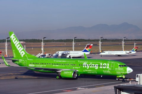 Kulula Airlines has one of the best aircraft paint jobs