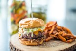 Short Rib Stack Burger