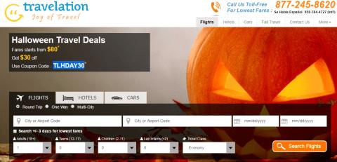 Travelation Airport Halloween 2016 Killer Deal