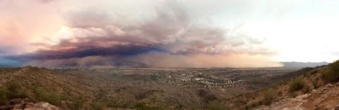 Haboob dust storm in Phoenix 2011 - taken by Alan Stark