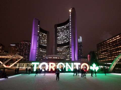 Beautiful Toronto downtown