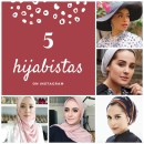 We love these 5 hijabistas on Instagram | they are very influential because they optimise modern Instagram modest fashion