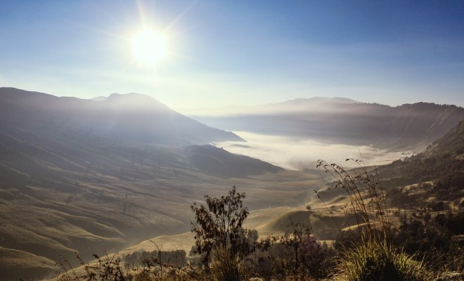 Mount Bromo hike during Indonesia trip