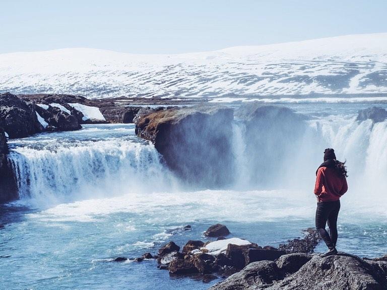 Kemegahan Air Terjun Iceland