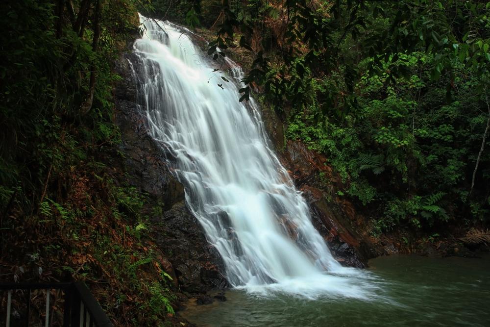 If you're looking for a waterfall in Malaysia, check out waterfall Kota Tinggi (or Air Terjun Kota Tinggi)