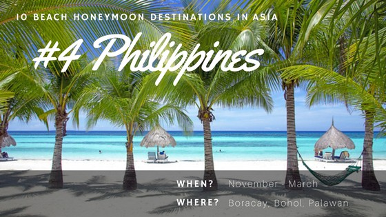 For great vacation spots, visit Philippines best Boracay island