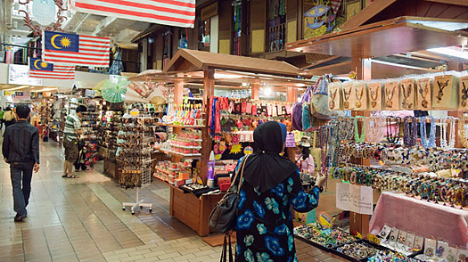 Central Market is one of KL's most familiar landmarks and a popular tourist attraction.
