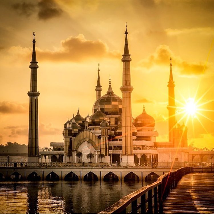 The Crystal Mosque or Masjid Kristal is one of the mosques in Terengganu, Malaysia.