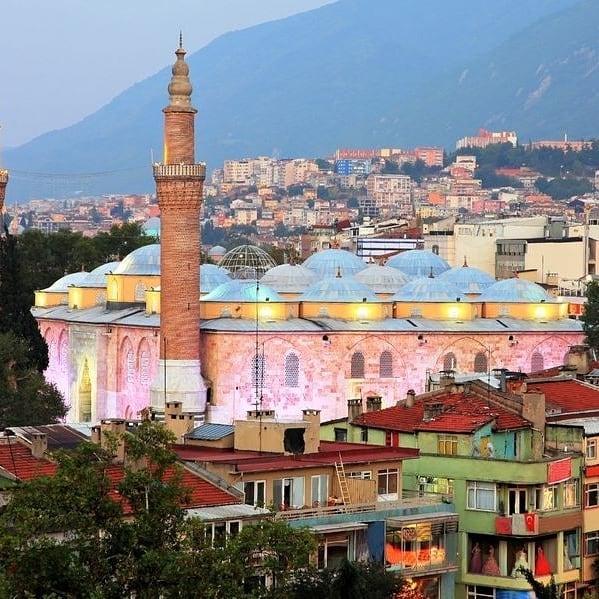 Bursa Grand Mosque is a mosque in Bursa, Turkey.