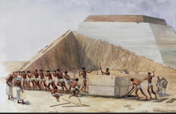 Proses Pembinaan Piramid Giza