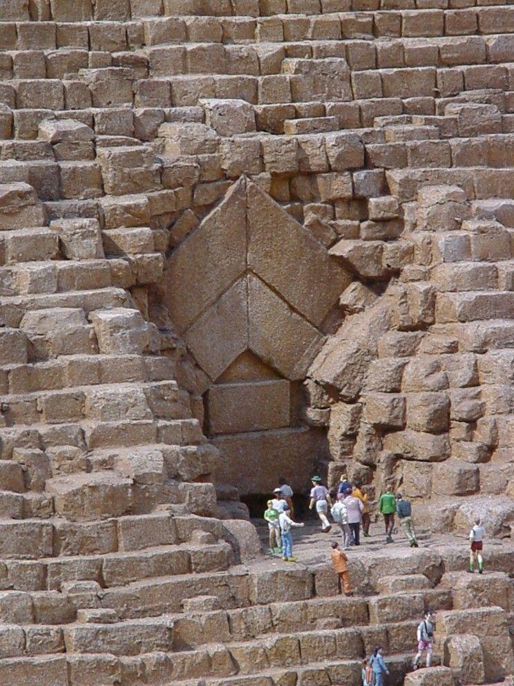 Pintu Masuk Piramid Giza
