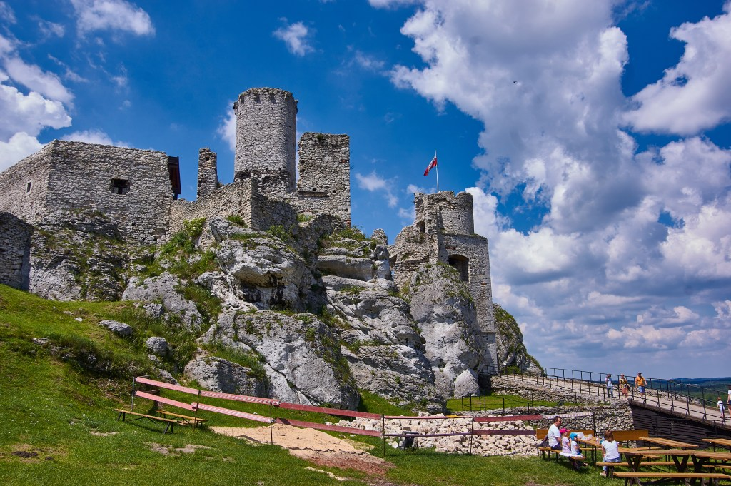 Ogrodzieniec Castle Poland The Witcher Battle of Sodden