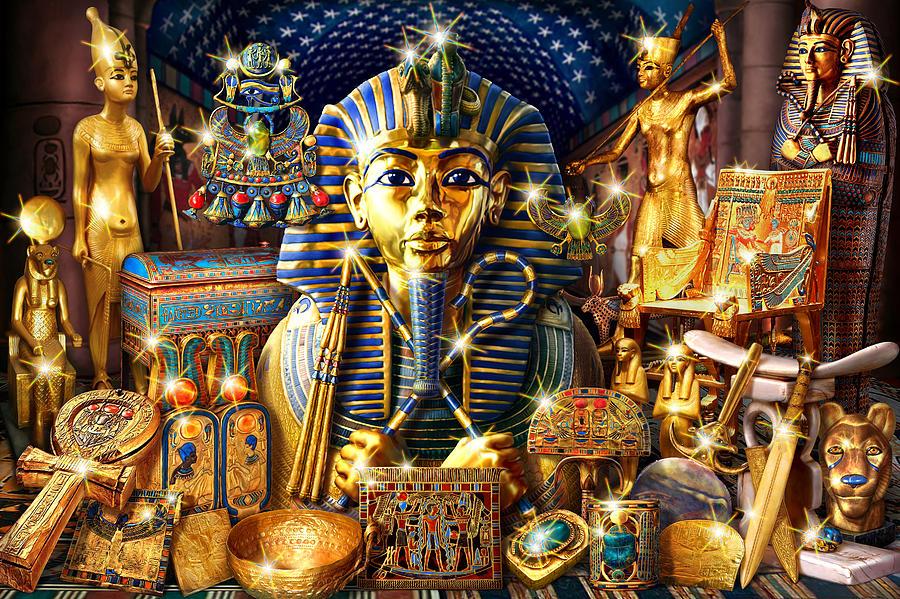Harta Karun Dalam Piramid