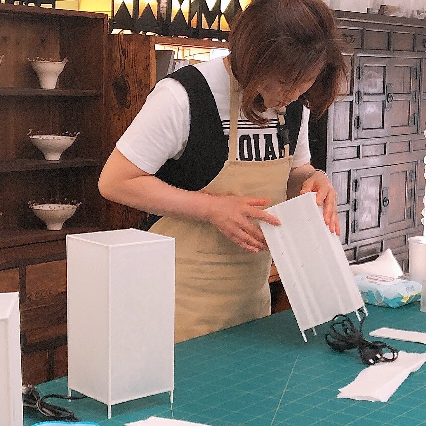 Lantern making workshops in Korea