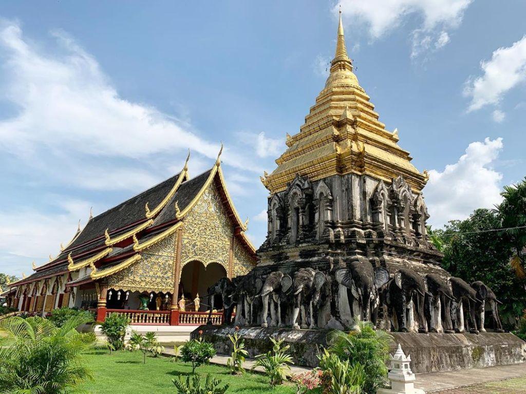 Wat Chiang Man in Chiang Mai.