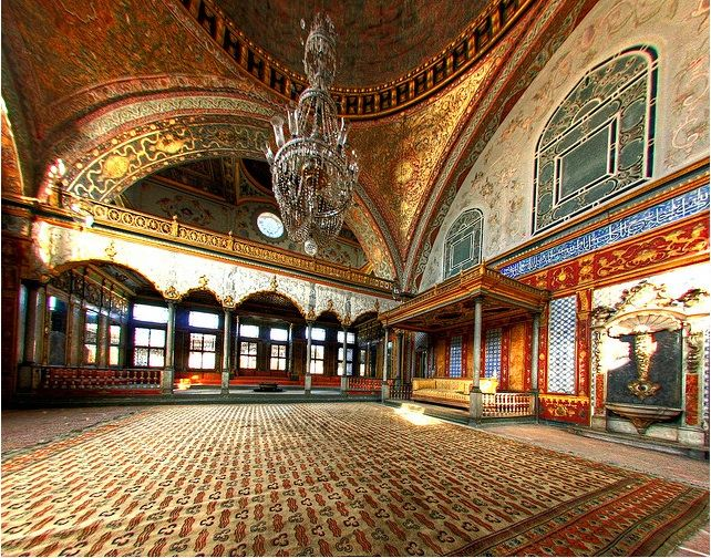 historical places in turkey - Topkapi Palace