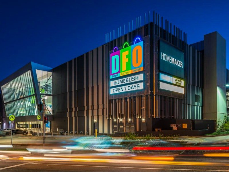 Shopping at DFO Outlet Homebush