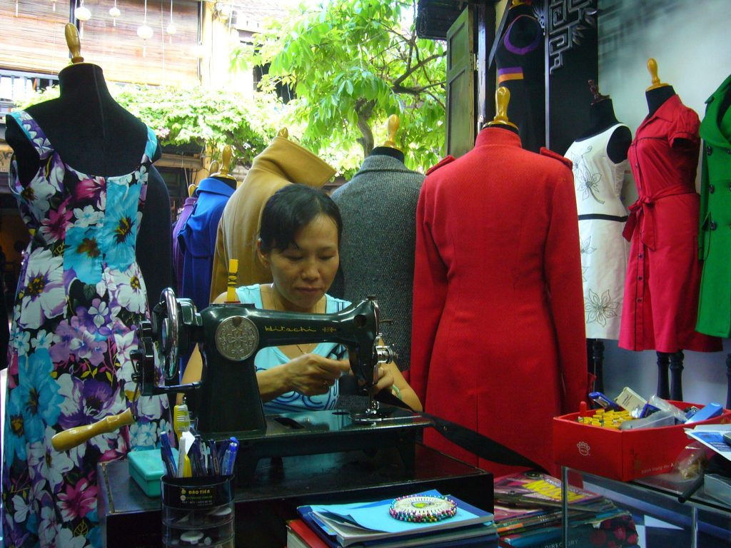 Have your tailored suit or custom-made outfit done for you in a day at Hoi An Old Town