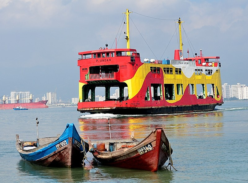 If you are travelling overland to Penang, then you will probably use the Penang Ferry (Feri Pulau Pinang)