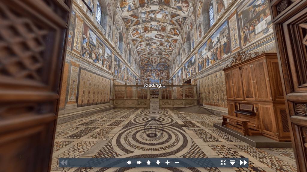 Virtual Tour di Sistin Chapel Vatican City