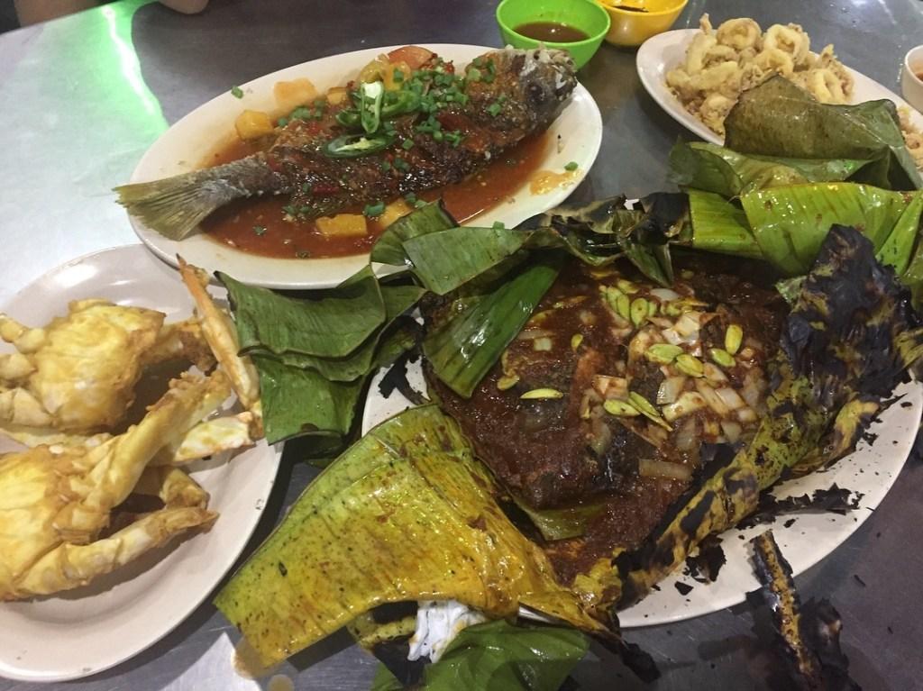 Restoran Ana Ikan Bakar Petai antara yang terkenal di Kuantan